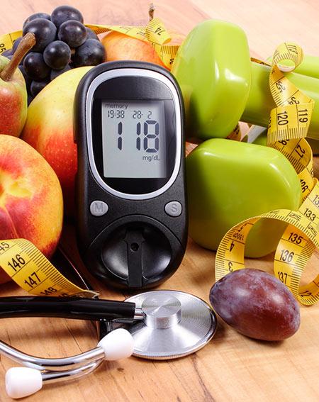 dieta para diabéticos y perdida de peso