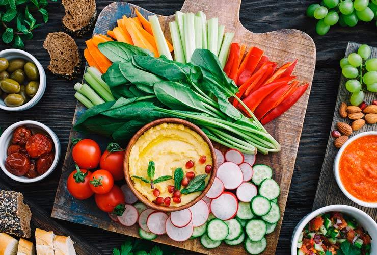 Dieta Vegana - Vegetariana